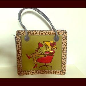 Vintage rare Nicole Miller purse